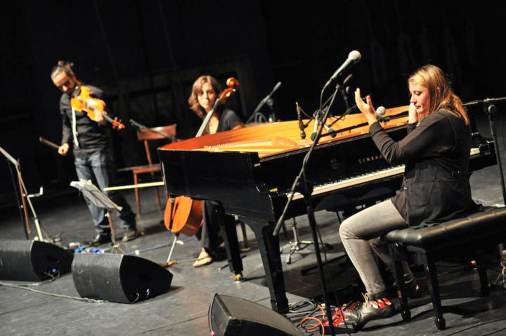 Torino, 12 settembre 2012. Concerto dei Carlot-ta & the Sleeping Owls al Teatro Astra . Ph. Marco Saroldi.